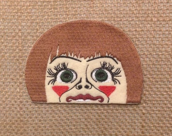 Annabelle embroidery pocket patch