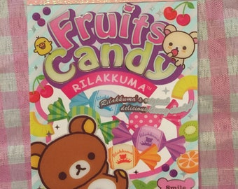 San-X Rilakkuma Fruit Candy mini memo pad