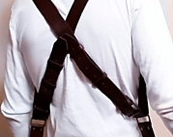 Multicamera photographer Strap, Multicamera Photographer Leather harness, Dual camera strap