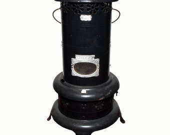 Antique Miller Smokeless Parlor Heater