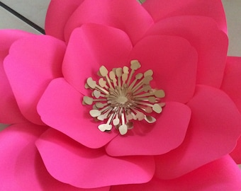 Center #10 - Paper flowers, wedding, baptism, bridal shower, first communion, baby shower