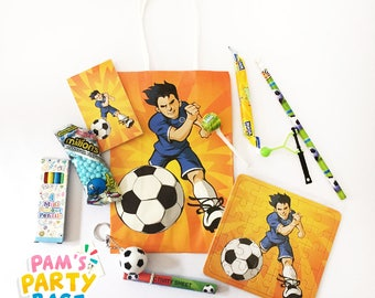Children's Pre-filled Football Themed Party Bags