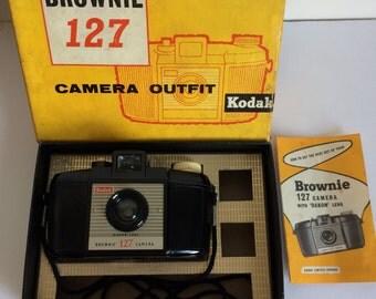 Kodak brownie 127 with box