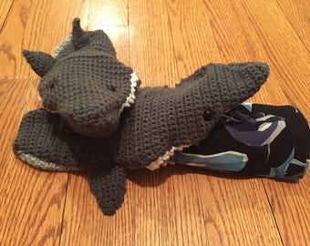 Crocheted Shark Socks - FREE Shipping! Shark Slipper Socks, Adult Shark Socks, Shark Booties, Family Socks, Aquarium Socks,Marine Life Socks