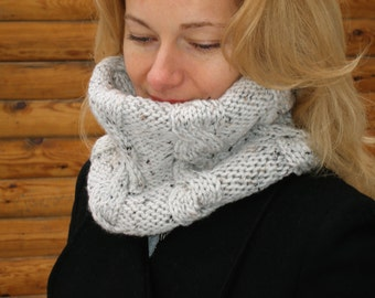 Knit scarf winter scarf wool scarf women scarf infinity scarf crochet infinity scarf knit infinity scarf women knitted scarf gift for mom
