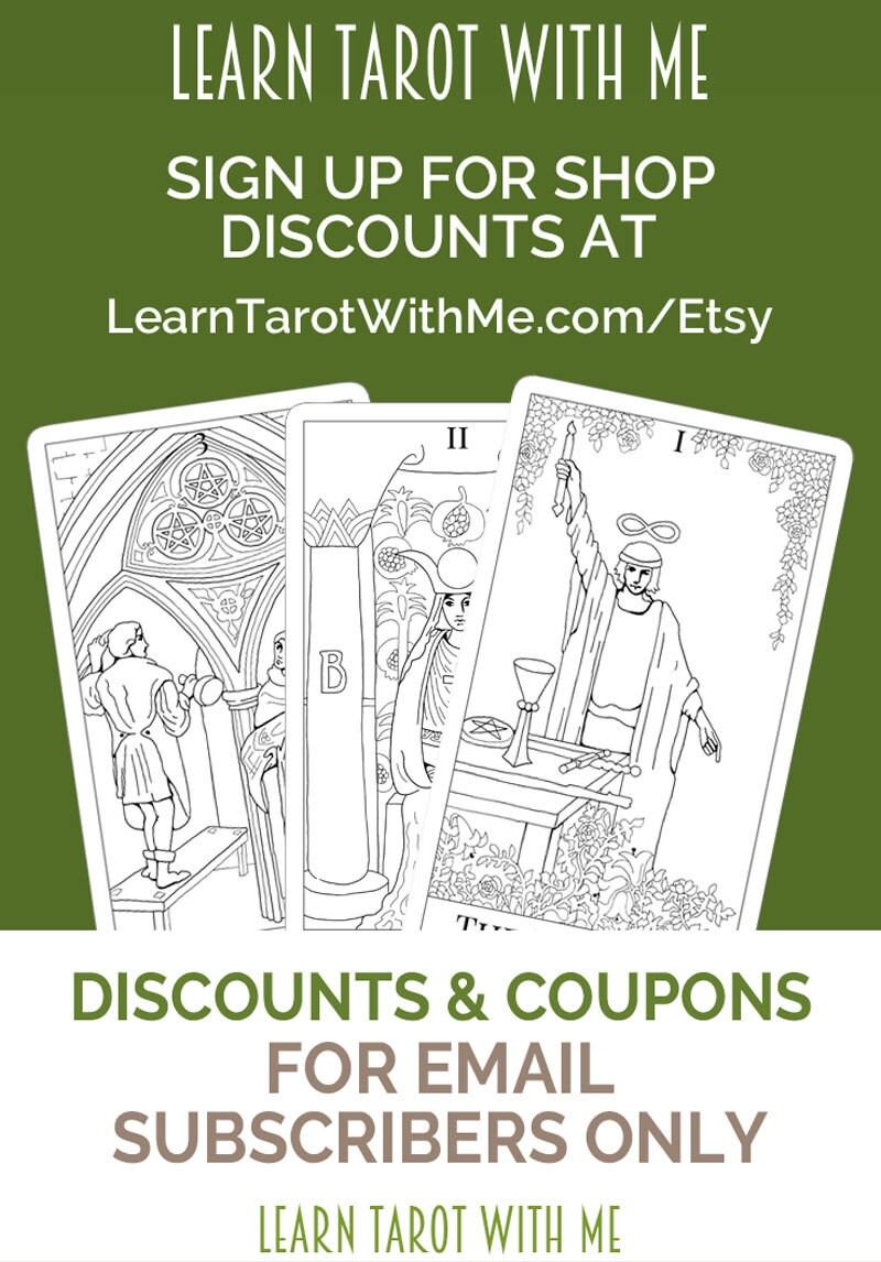 Printable Tarot Deck A Tarot Card Deck And Printable: Printable Tarot Deck Flash Cards To Learn Tarot Card Meanings