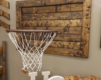 Rustic Basketball Goal