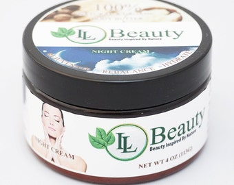 LL Beauty Organic Night Cream