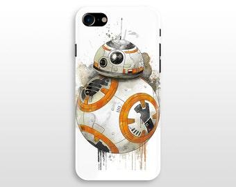 Star Wars BB8 iPhone 7 case, iPhone 7 plus case, iPhone 6 case , iPhone 6 plus, iPhone 5/5s Galaxy S8 S7 S6 case Droid