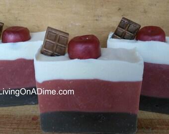 Chocolate Cherry Soap