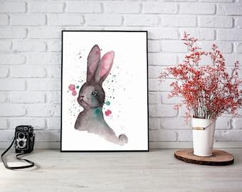 """Illustration """"Petit lapin"""""""