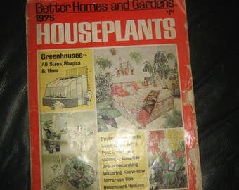 Houseplants 1975 Better Homes and Gardens
