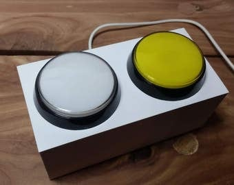 Dual USB Buttons