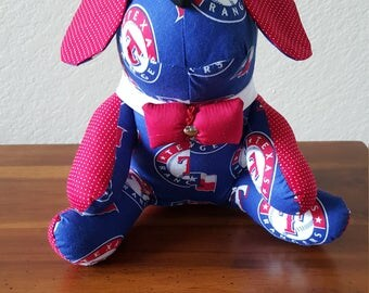 Texas Rangers Baseball Dog