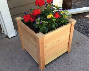 Cedar Patio Planter (without support system)