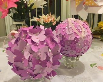 Flower arrangment balls