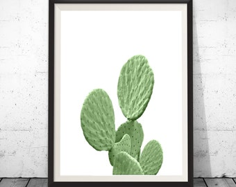Cactus Print Art, Cacti Print, Plant Print, Botanical Print, Cactus Art, Cactus Decor, Digital Prints Wall Art, Cactus Poster, Wall Decor