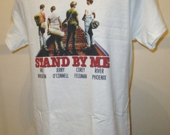 Stand By Me : 80s Adventure Comedy Film T Shirt - Retro Movie Apparel Fashion Graphic Tee Men & Women 400