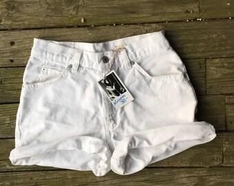 "Levis white shorts 29"""