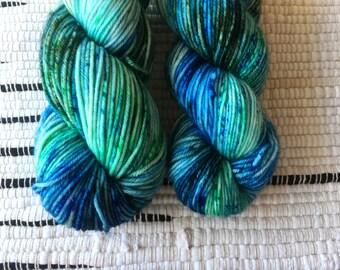 SURF | Merino DK | Hand Dyed Sock Yarn | 100% SW Merino | 230yds / 100g