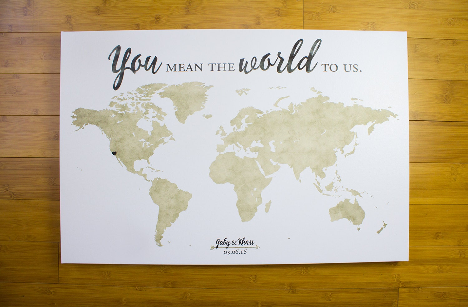 World map wedding guest book guest book alternative you mean the world map wedding guest book guest book alternative you mean the world to us gumiabroncs Images