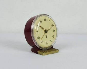 Vintage JAZ clock, french alarm clock