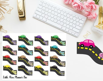 Road Trip Planner stickers