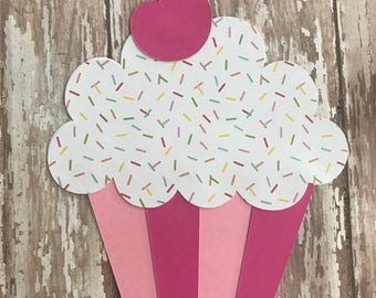 Cupcake Invitations - Cupcake Party - Cupcake Birthday Invitation - First Birthday - Decorate a Cupcake - Sweet Shop - Bakery Party