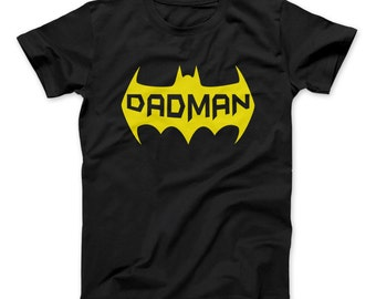 Dadman T-Shirt Best Gift Father's Day Gift For Dad Is DADMAN