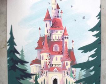 Beast's Castle A4 print