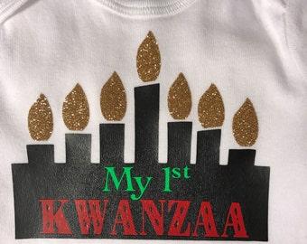 My 1st Kwanzaa Onesie