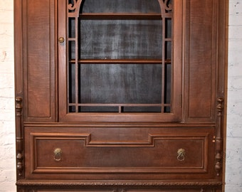 CUSTOM PROJECT: Antique China Cabinet