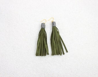 Hypoallergenic Silicone Native Fringe Earrings