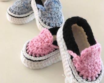 Vans Style Baby Sneakers Baby Booties