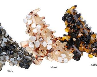 Delicate hair claws flowers  women head wear jewelry