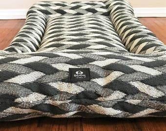 Rope Knot Dog Bed, Dog Crate Mat, Crate Mat, Crate Pad, Dog Pad, Puppy Bed