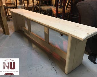 Handmade Reclaimed Wooden Bench
