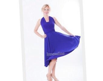 Royal blue   Infinity  Dress  coctail dress