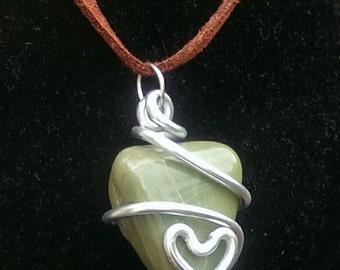 Various wire wrapped Gemstones
