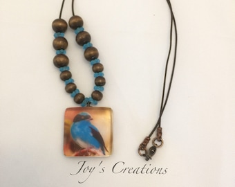 Resin Jewelry. Bird Series