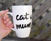 """Cat Mug """"Cat Mum&quo..."""