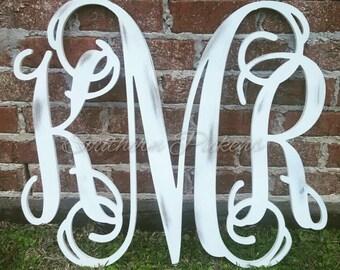 3 Letter Vine Monogram