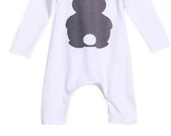 Baby got bunny onesie