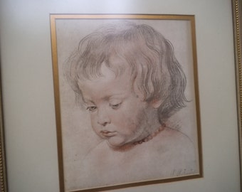 Rubens - Set of 2 Lithography Prints - Beautifully Framed