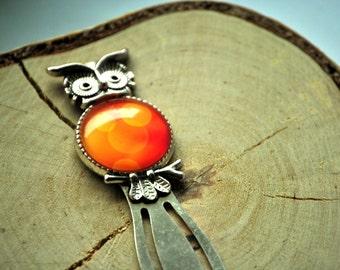 Bookmark | Orange Owl