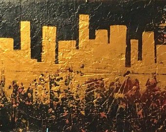 The city of gold 16x40x1.5