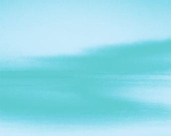 Blue landscape. Abstract photography.