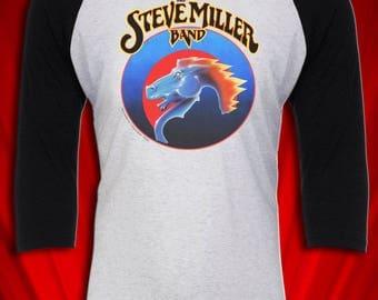 Steve Miller Vintage 1978 Tour Jersey tee Fly Like an Eagle