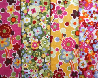 Oz by Sanae for Moda Fabrics - Quarter Yard Bundle - 4 pieces