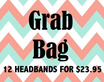 Grab Bag Sale/Grab Bag Headbands/Headband Grab Bag/Baby Headbands/Infant Headband/Headband Set/Newborn Headband/Baby Shower Gift/Baby Bows